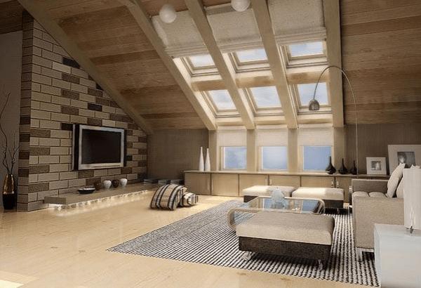 Dachwohnung einrichten  30 Ideen zum Inspirieren  Archzinenet