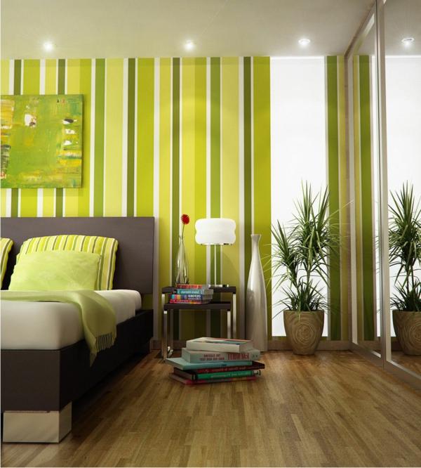 30 interessante Vorschlge fr Tapeten im Schlafzimmer  Archzinenet