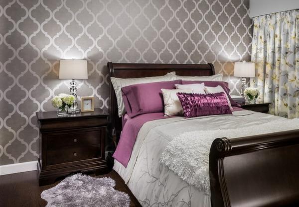 30 interessante Vorschlge fr Tapeten im Schlafzimmer