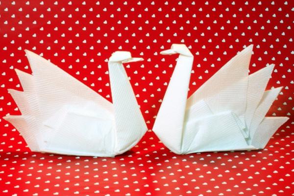 Servietten falten  49 auffllige Ideen zum Selbermachen