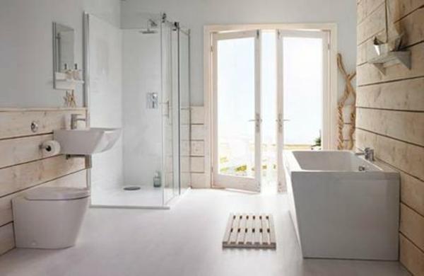 Badezimmer Grau Wei Mosaik