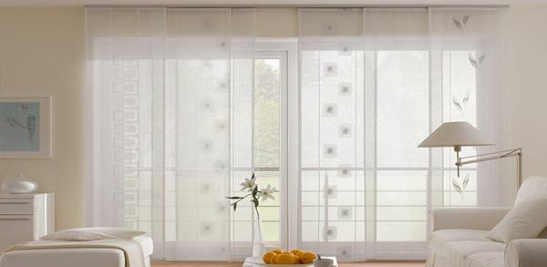 schiebegardinen kurz wohnzimmer | haus design ideen, Wohnzimmer
