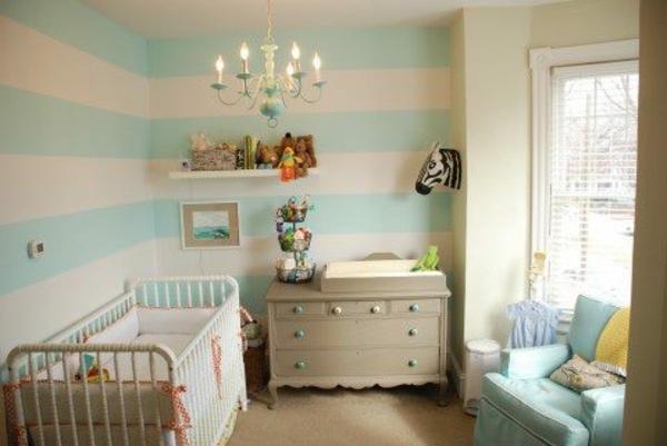 Babyzimmer Tapeten  27 Kreative Und Originelle Ideen