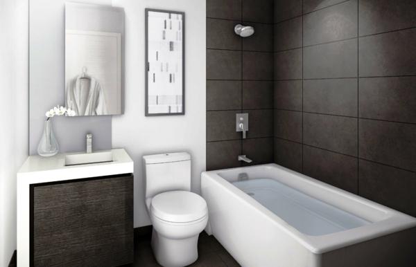 Badezimmer Moderne Ideen Badewanne In Wei
