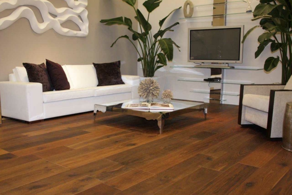 Bodenbelag Holz Wohnzimmer