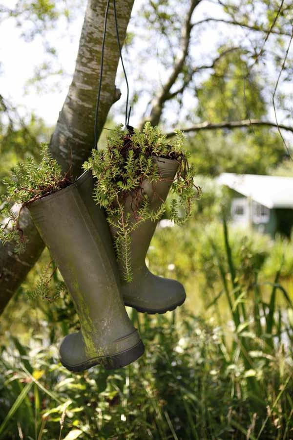 30 kreative Ideen fr selbstgemachte Gartendeko