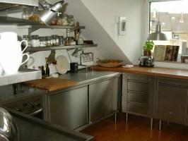 Edelstahl Küche   58 elegante Beispiele   Archzine.net