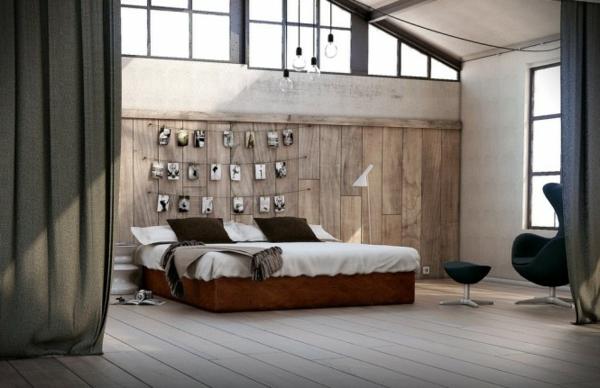Schlafzimmerwand gestalten  40 wunderschne Vorschlge  Archzinenet