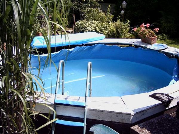 Garten Pool selber bauen  eine verblffende Idee