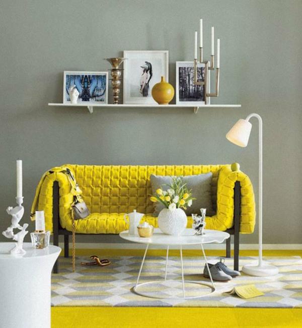 Wohnzimmer Grau Gelb Inspirierende Bilder Von Wohnzimmer ... Wohnzimmer Grau Und Gelb