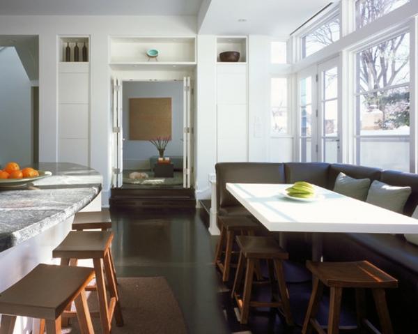 Modernes Esssofa  Gemtlichkeit und Komfort im Esszimmer  Archzinenet