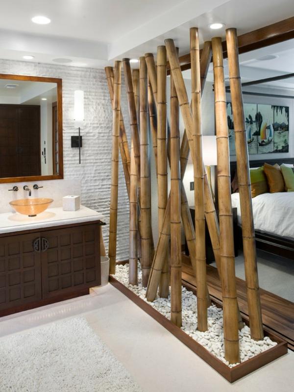 Bambus Dekoration fr eine coole Wohnung