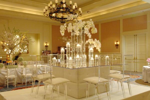 Hochzeitsdeko fr Tisch  65 coole Ideen  Archzinenet