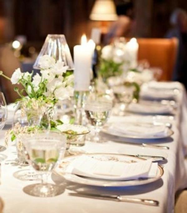 Hochzeitsdeko fr Tisch  65 coole Ideen