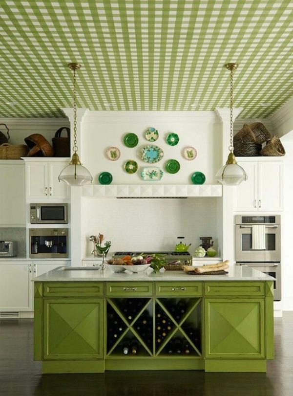 Kreative Kchentapeten Beispiele  fr kreative Hausfrauen  Archzinenet