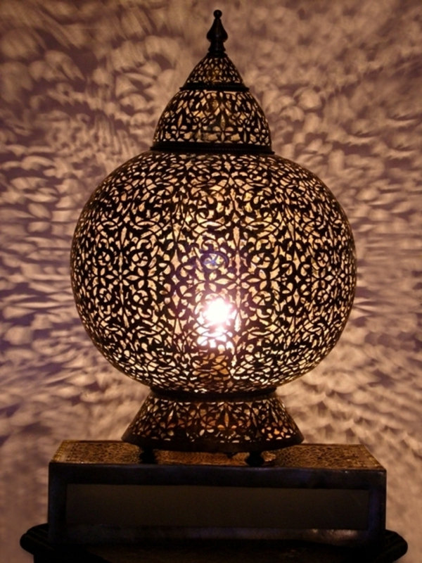 Orientalische Lampen fr ein exotisches Ambiente im Zimmer