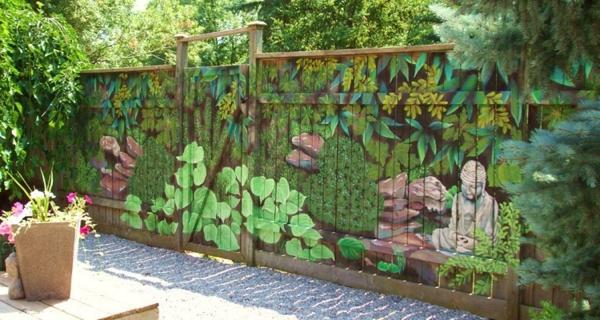 Moderne Gartenzaungestaltung  26 interessante Vorschlge