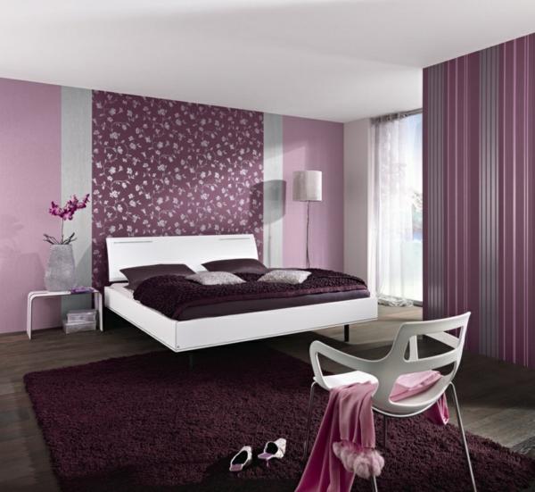 Lila Schlafzimmer  31 super kreative Beispiele  Archzinenet