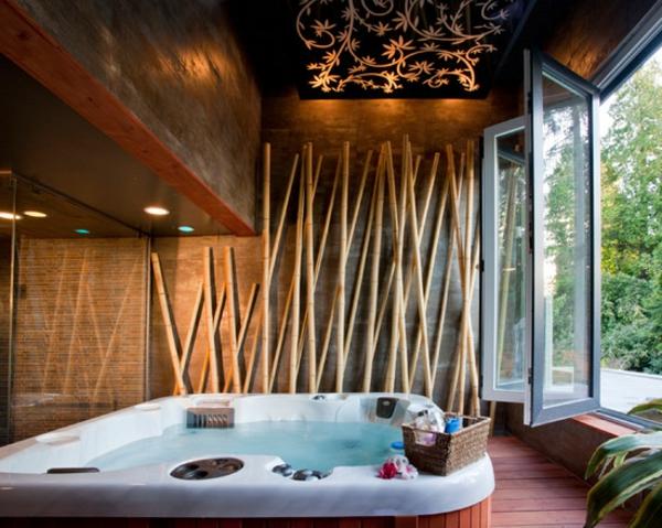 Bambus Dekoration fr eine coole Wohnung  Archzinenet