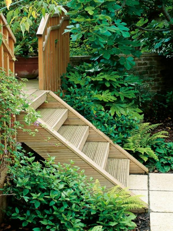 Gartentreppe selber bauen  40 super Beispiele  Archzinenet