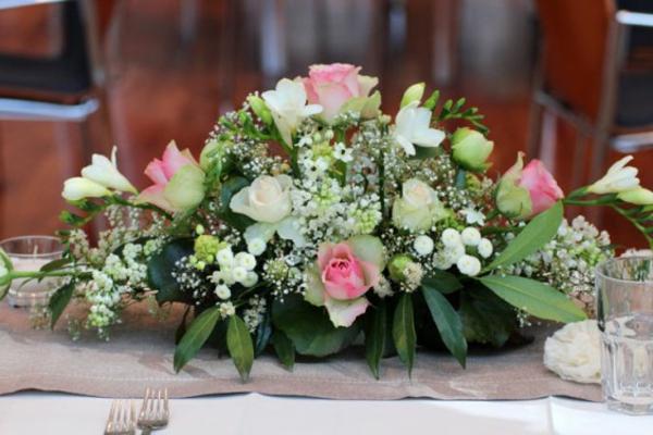 Tischgestecke fr Hochzeit  wnderschne Ideen