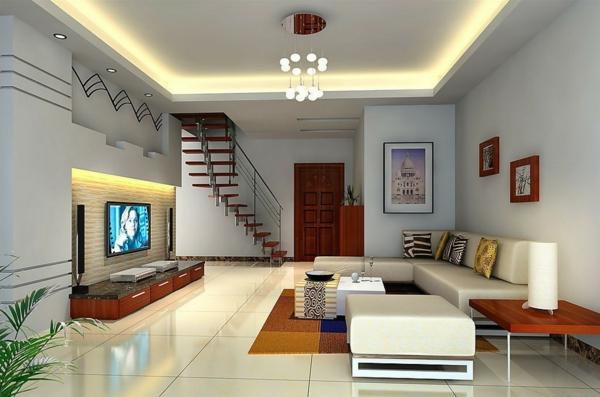 wohnzimmer beleuchtung ideen - boisholz - Moderne Wohnzimmer Beleuchtung