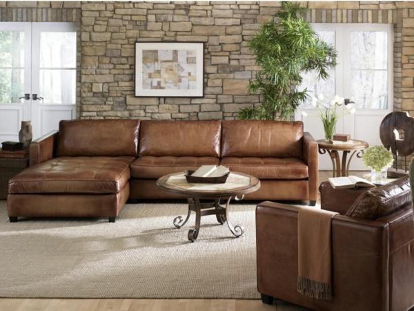 Braunes Sofa  ein musthave zu Hause  Archzinenet