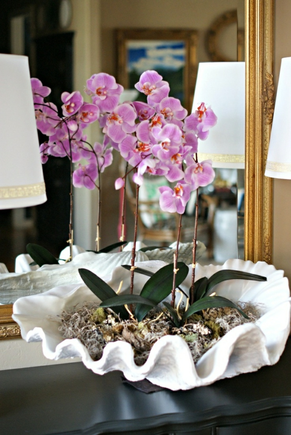 Deko mit Orchideen  31 kreative Ideen  Archzinenet