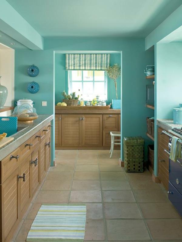 wandgestaltung kche farbe m belideen. Black Bedroom Furniture Sets. Home Design Ideas