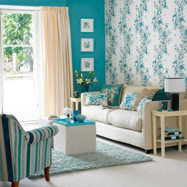 wandgestaltung wohnzimmer grau turkis | moregs - Wandgestaltung Wohnzimmer Grau Turkis