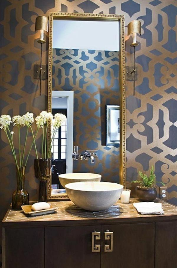 badezimmer ideen fotos luxus tapeten 36 einmalige. Black Bedroom Furniture Sets. Home Design Ideas