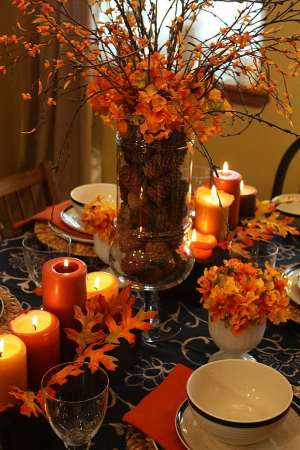 Herbstdeko basteln  28 inspirierende Ideen  Archzinenet
