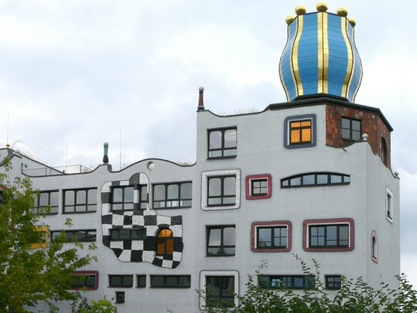 Hundertwasser Kunst ber die Welt