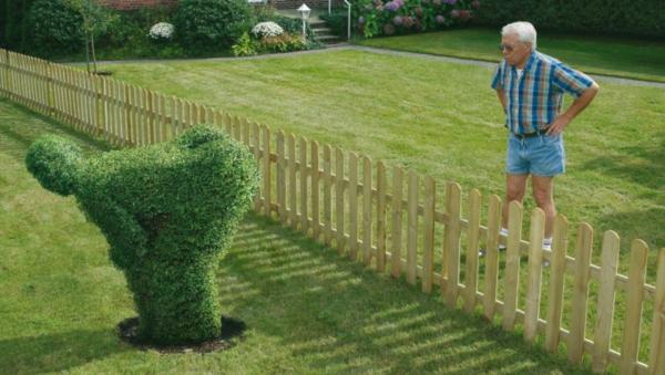 Lustige Gartenfiguren oder die Topiary  Kunst  Archzinenet