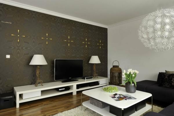 Braun Wohnzimmer Ideen