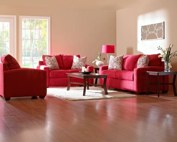 Rotes Sofa Wohnzimmer Einrichten Das Rote Sofa - Boisholz Wohnzimmer Ideen Rote Couch