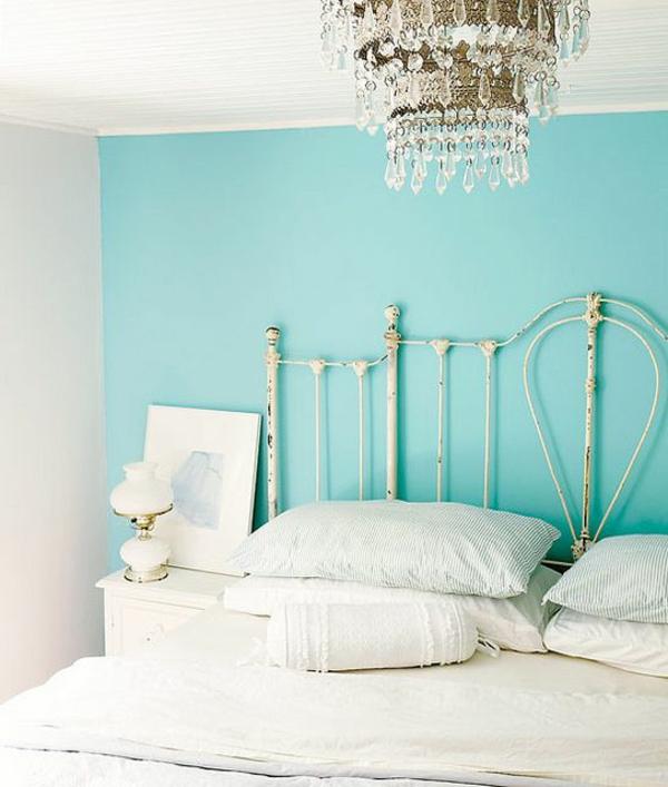 Wohnzimmer Blau Turkis