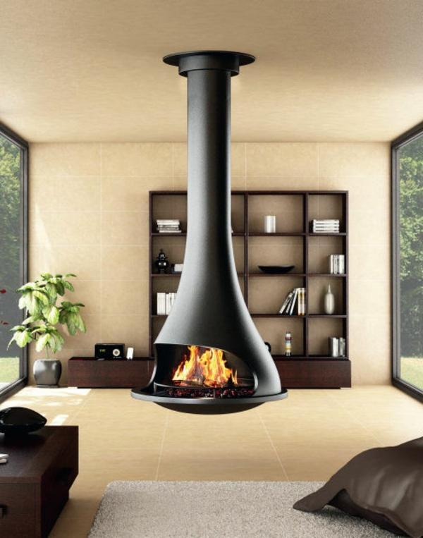 Feuer Modernen Design Rotes Esszimmer