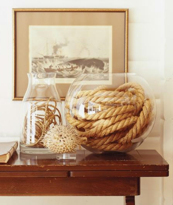 30 nautische Ideen mit Seil Dekoration  Archzinenet