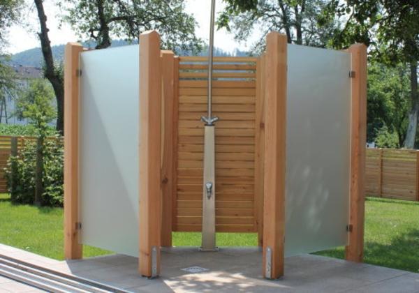 sichtschutz fur dusche europeaid garten ideen   sichtschutz, Terrassen deko
