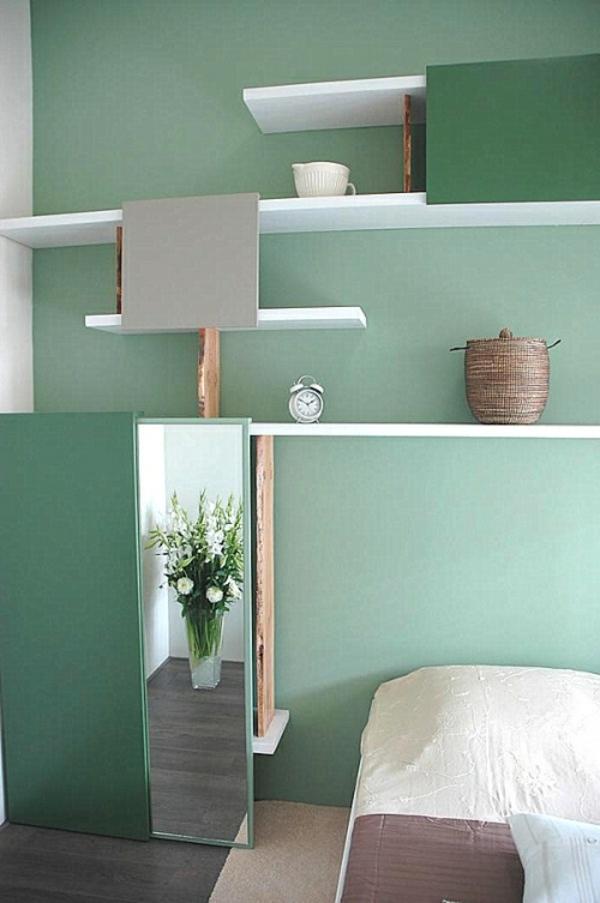Ideen Minze Schlafzimmer Interieur