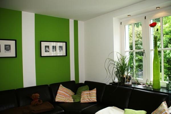 Wandfarben Kombinationen machen Spa