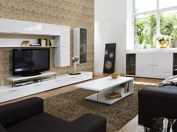 moderne tapetenmuster wohnzimmer wohnzimmer modern and interior