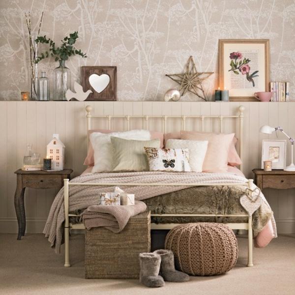 schlafzimmer deko ideen   sichtschutz, Schlafzimmer design