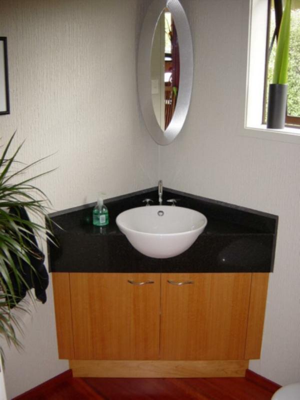 Eckwaschbecken mit Unterschrank frs Badezimmer  Archzinenet