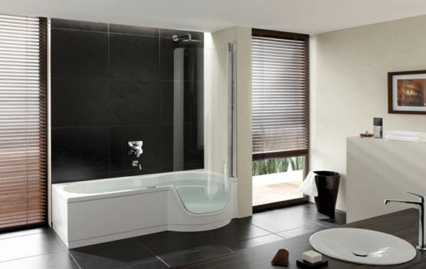 Farbideen Flur Badewanne Mit Duschzone Tolle Beispiele