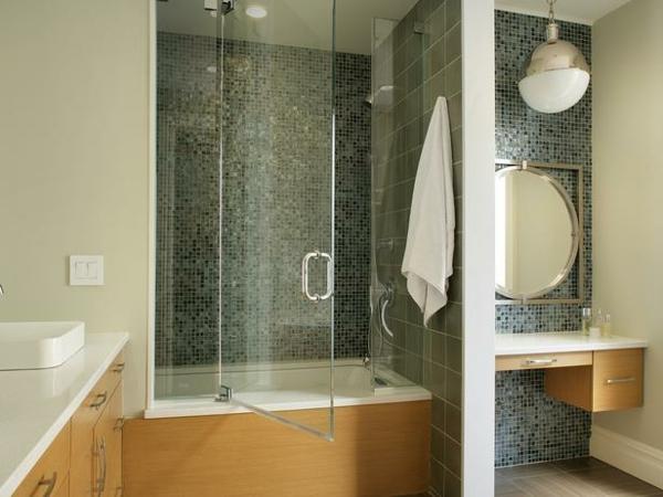 Badewanne mit Duschzone tolle Beispiele  Archzinenet