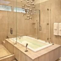 Badewanne mit Duschzone -tolle Beispiele! - Archzine.net