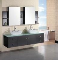 Badezimmer doppelwaschbecken mit unterschrank – Eckventil ...