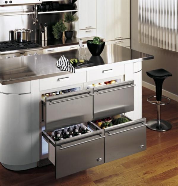 Ikea Küchen Einbauen   Schubladen Kühlschrank-praktisch ...